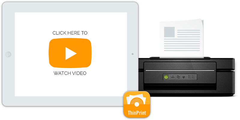 ThinPrint Mobile Session Print enables iPad and iPhone users to print directly