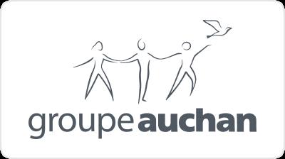 Customer Logo Groupe Auchan